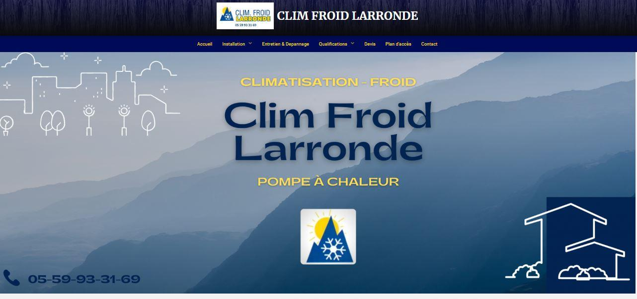 CLIM FROID LARRONDE