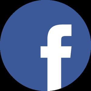 Facebook logo rond s