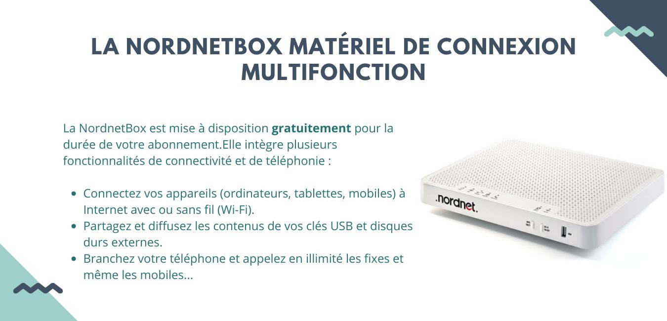 La nordnetboxmateriel de connexion multifonction